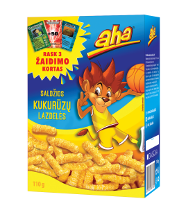 AHA saldžios kukurūzų lazdelės, 110 g
